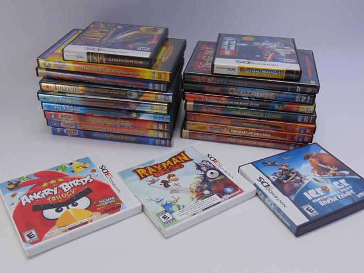 Japanese Anime DVD & Nintendo DS Game Lot Of 20