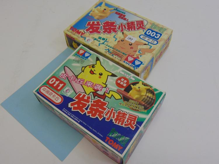 1998 Tomy Japan Pokemon Nintendo Pocket Creatures Lot Of 2