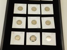Lot 8: Lot Of 15 Us Mint Buffalo Nickels