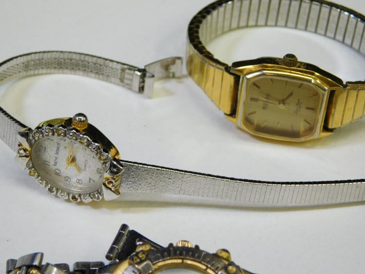 Lot 21: Lot Of 3 Vintage Ladies Wrist Watches Guess Harve Benard And Lucien Piccard