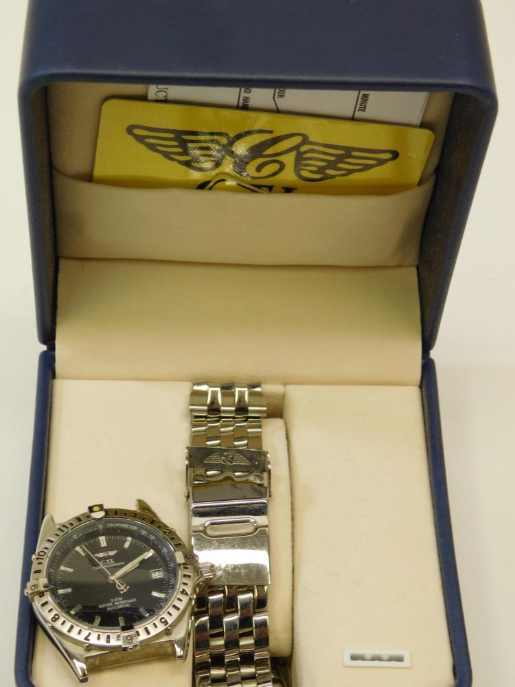 Cti Chronograph Men'S Automatic Wynd Wristwatch