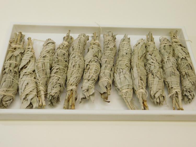 Lot Of 12 California White Sage Smudge Sticks