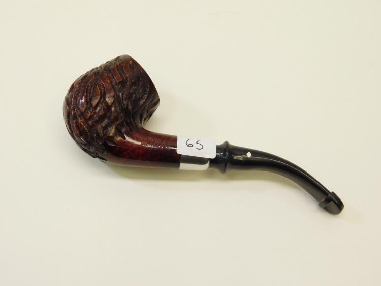Vintage Imported Briar Hand Carved Omega Dr Grabow Estate Smoking Pipe