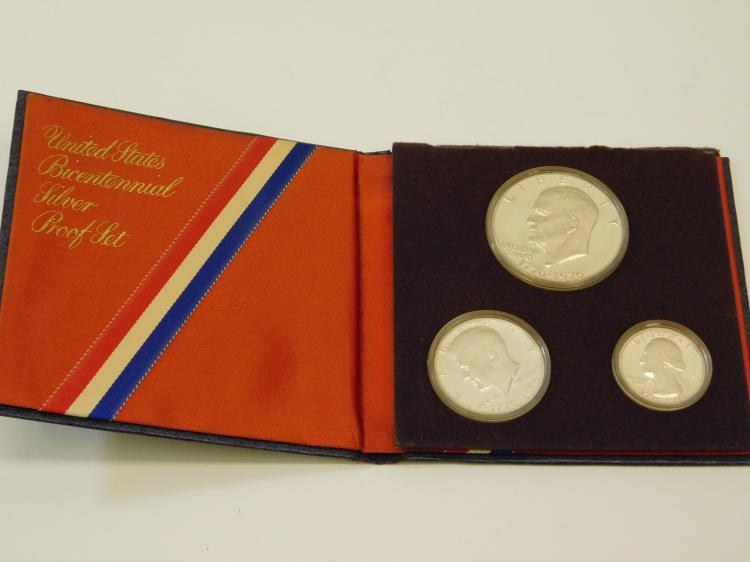 1976 United States Bicentennial Silver Proof Set