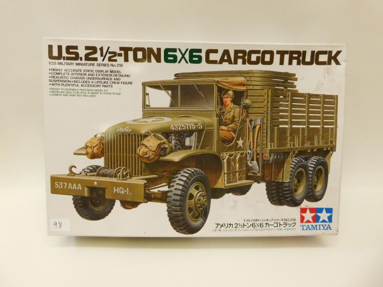 1997 Tamia Us 2 1/2 Ton 6X6 Cargo Truck 1:35 Scale Model In Box
