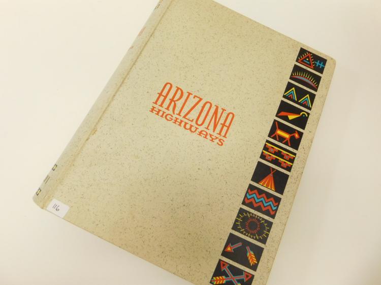 1966 Complete Annual Year Of Arizona Highways Magazine In Binder
