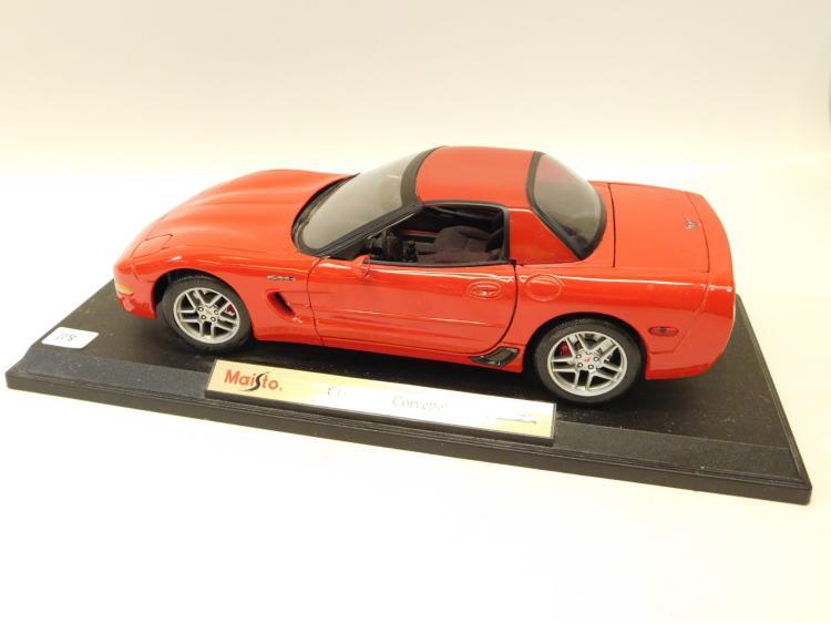 1/18 Scale Maisto Chevrolet Corvette Diecast Metal Model Car
