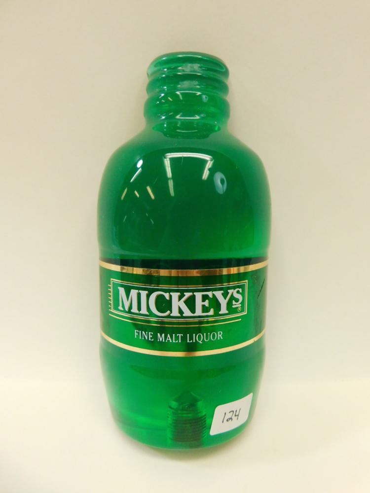 Vintage Mickey'S Fine Malt Liquor Beer Tap Handle
