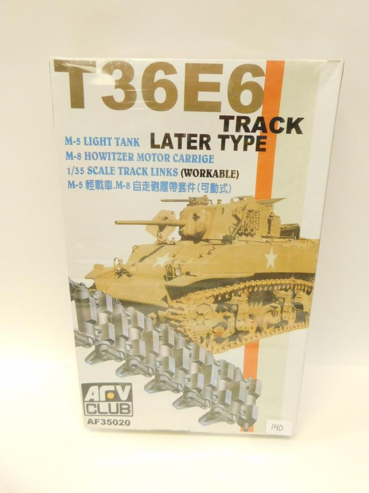 Arb Club T36E6 Track M5 Light Tank Later Type Howitzer Motor Carriage 135Th Scale Model