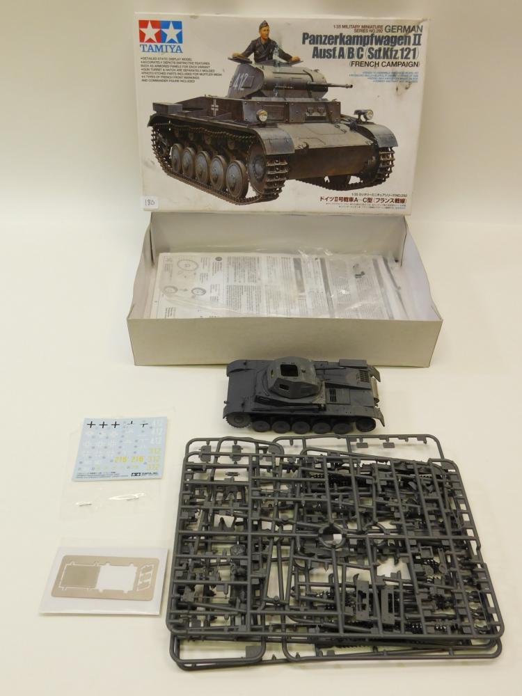 2008 Tamiya 1/35 Scale German Panzerkampfwagen Ii Model Tank Kit