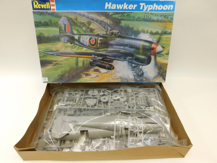 1996 Revell Hawker Typhoon 1/32 Scale Airplane Model Kit