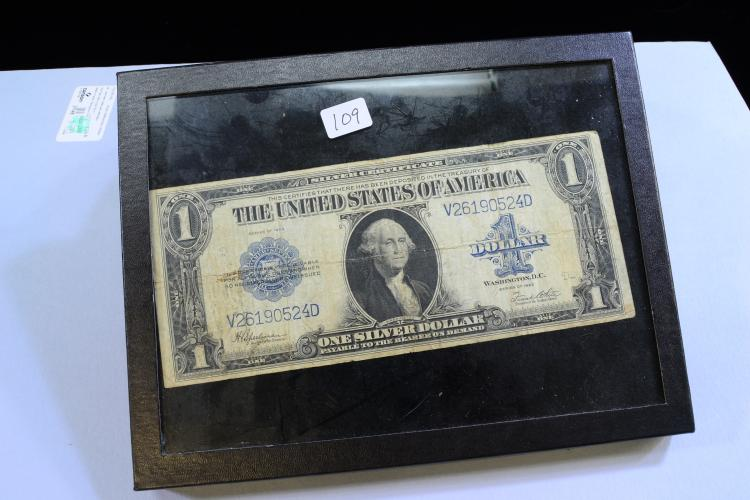 Lot 109: Series Of 1923 $1 Silver Certificate Horse Blanket Note