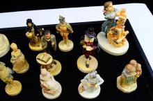 Lot 126: Lot Of 12 Sebastian Miniatures Figurines Including Lincoln And Grocery Store