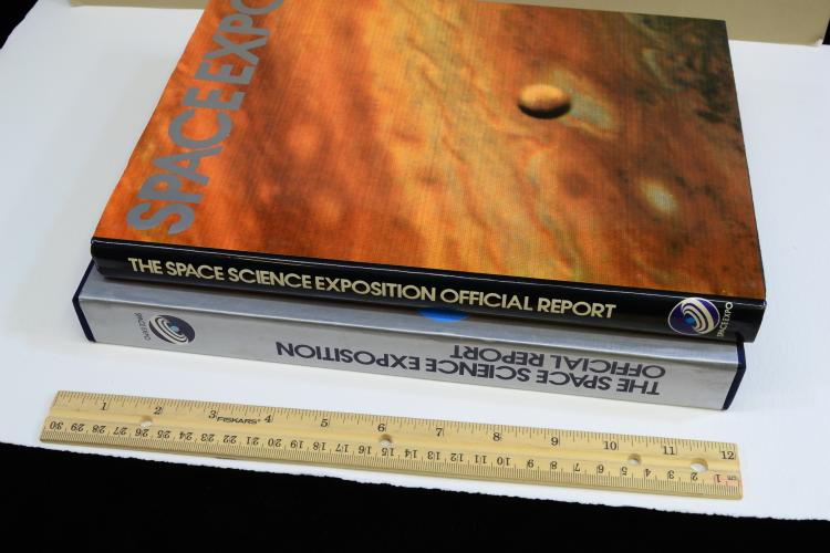 Lot 133: 1979 Space Expo Official Report Signed By Apollo 12 Astronaut Richard Dick Gordon