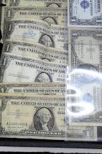 Lot 144: Lot Of 12 Series 1935 And 1957 $1 Silver Certificates