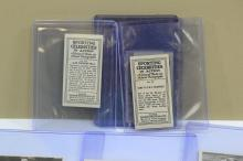 Lot 156: Lot Of 8 1930S Major Drapkin & Co Sporting Celebrities In Action Tobacco Cards