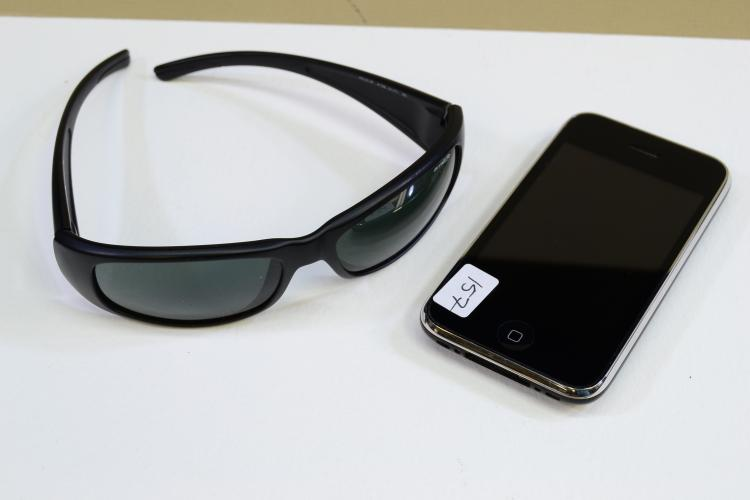 Lot Of Iphone A1303 And Arnette Hold Up Sunglasses
