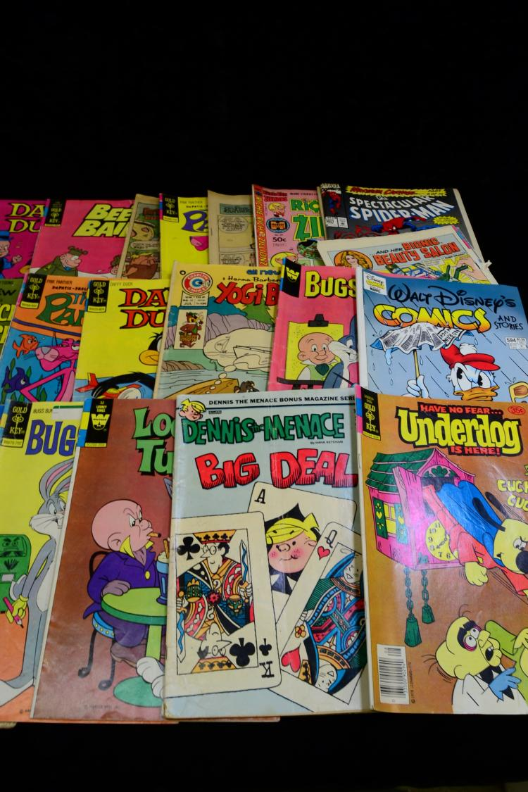 Lot 175: Lot Of Vintage Gold Key Whitman And Marvel Comic Books