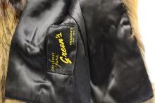 Lot 183: Vintage Green'S Exclusive Fox Fur Coat
