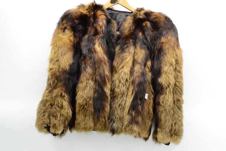 Vintage Green'S Exclusive Fox Fur Coat