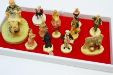 Lot 185: Lot Of 12 Vintage Sebastian Miniatures Figurines Including Collectors Society