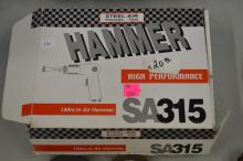 Lot 16: Steel Air Pneumatic Tools High Performance Air Hammer In Original Box