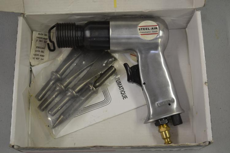 Steel Air Pneumatic Tools High Performance Air Hammer In Original Box