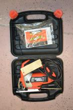 Lot 60: Black & Decker Js600 Variable Speed Jigsaw With Case