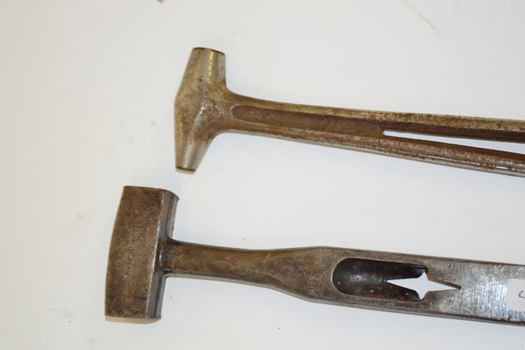 Lot 4: Lot Of 2 Antique Box Crate Opener Hammer Pry Bars Ce Donner Manufacturing