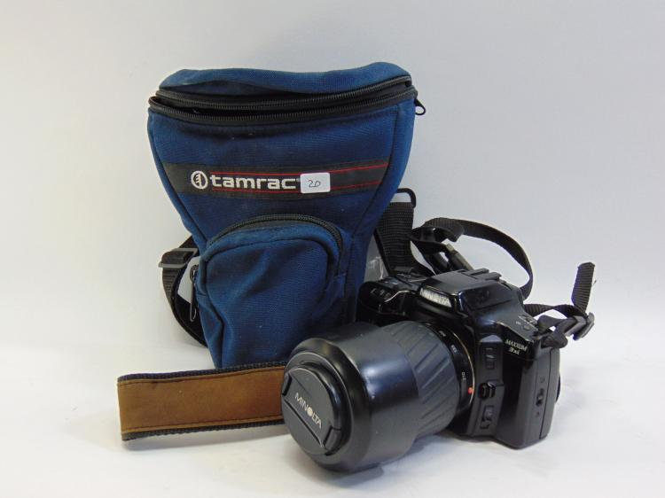 Minolta Maxxum 3xi 35mm Camera W/ Zoom Lens