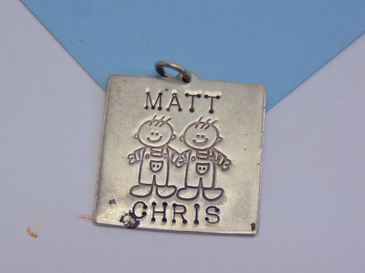 10.5g Sterling Silver Lucy Ann Pendant