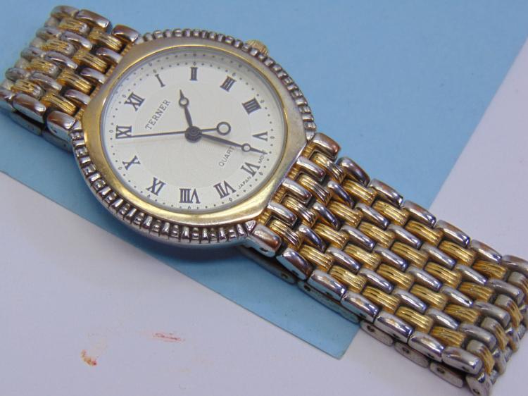 Vintage Terner Dress Wrist Watch