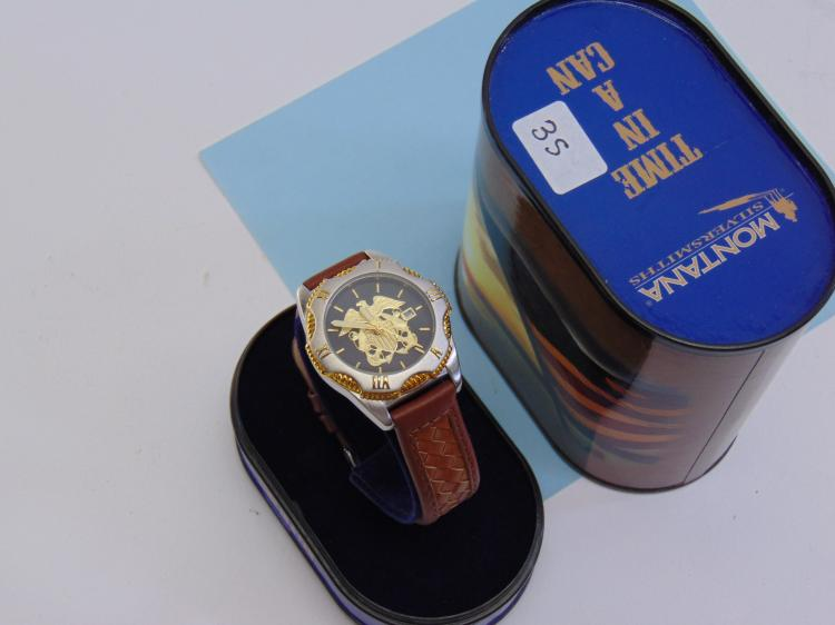 Montana Silversmiths Time In A Can Dress Watch