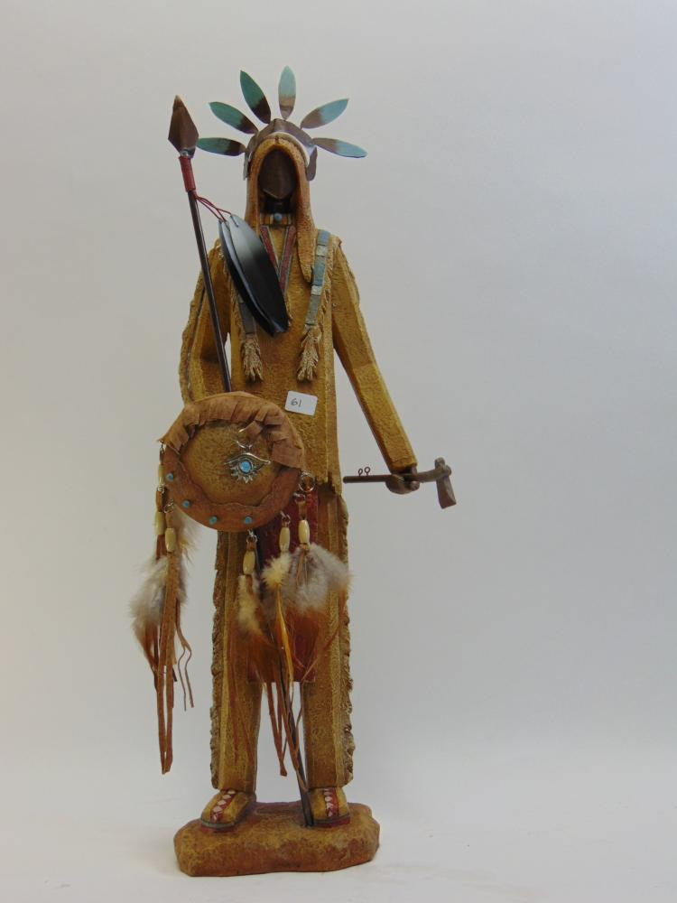 Handcrafted Native American Indian Figurine