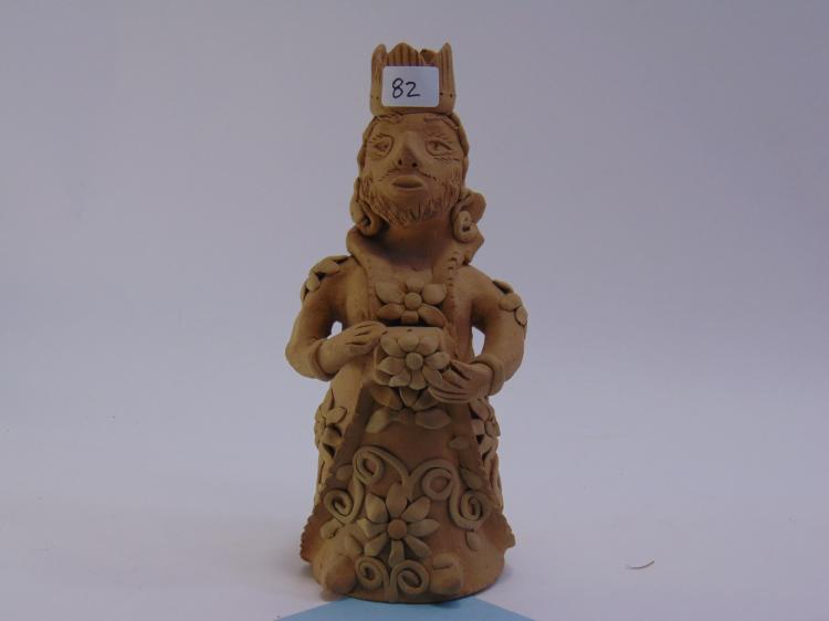 Vintage Teadora Blanco Unfired Clay Figurine