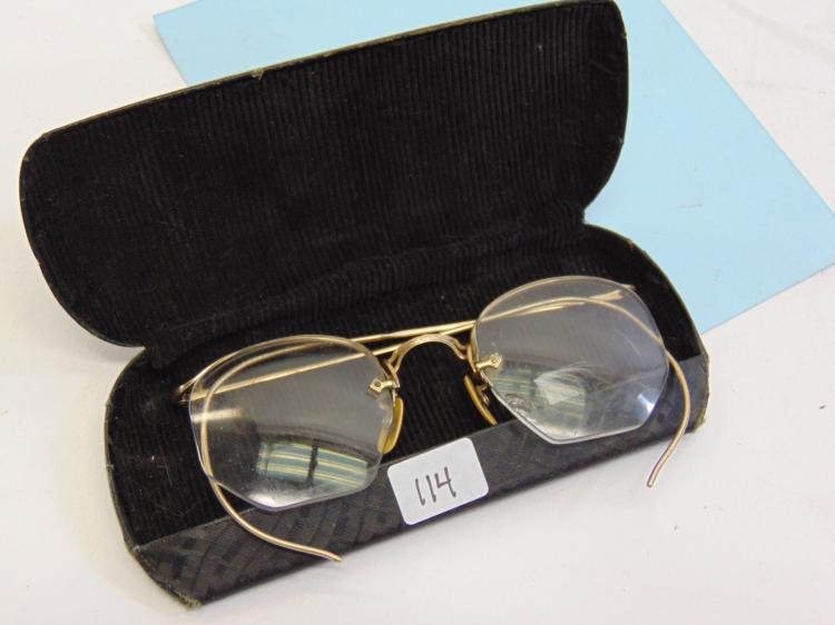 Antique 12K Gold Filled Reading Glasses