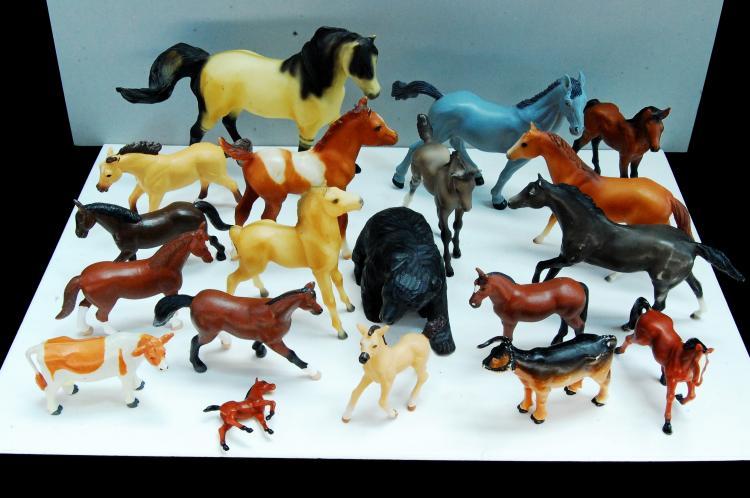 Vintage Breyer Molding Co Horse Figurine Lot Of 16