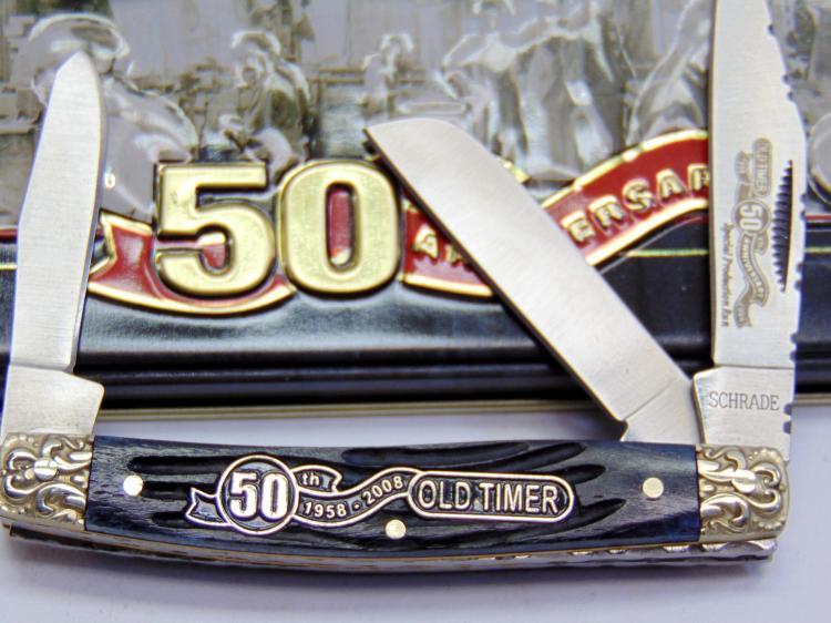 Schrade Old Timer 50th Anniversary Pocket Knife