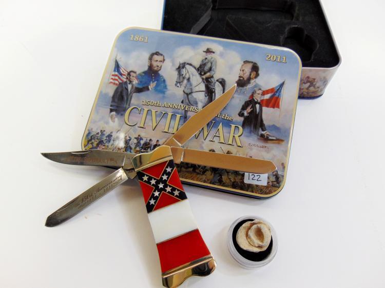 Rough Rider Civil War Commemorative Pocket Knife