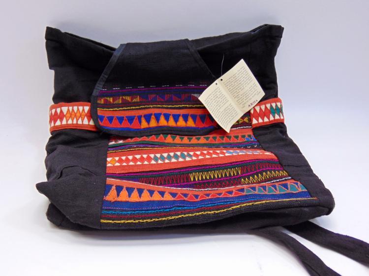 Thailand Ukha Tribal Design Tote Bag
