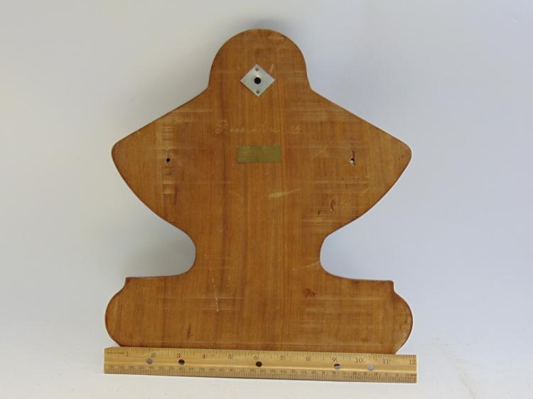 Lot 1: Vintage Brass & Wood Seacrafters LTD Nautical Coat Hanger
