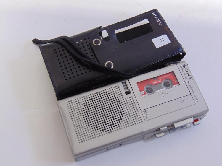 Lot 11: Sony M-203 Microcassette Recorder
