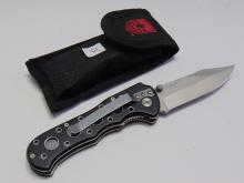 Lot 15: Boy Scout Motto Pocket Knife and Flashlight in Sheath