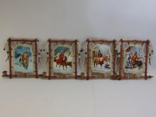 Lot 20: Bradford Exchange Chuck Ren Tribal Moments Lot of Four