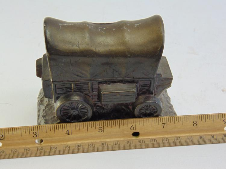 Lot 57: Banthrico Covered Wagon Advertising Bank