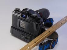Lot 97: Minolta X700 35mm Camera with Power Winder and Albinar 75-300mm Lens