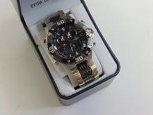 Lot 127: US Polo Assn. Cronograph Watch with Extra Long Band New In Box