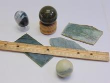 Lot 144: Lot of Monterey, Northern California, and Columbia Jade