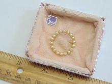 Lot 168: Vintage B David Pearl Brooch