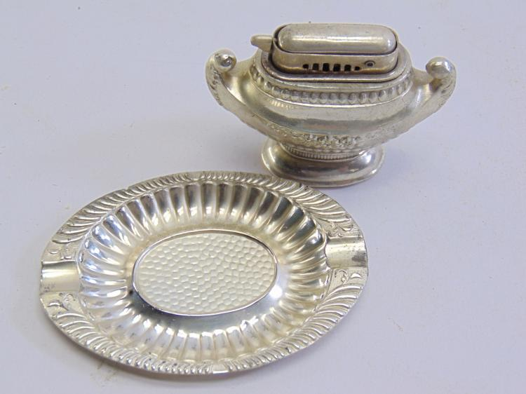 Lot 170: Vintage Occupied Japan Ash Tray and Lighter New In Box